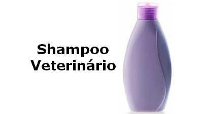 Formula de shampoo de uso veterinário