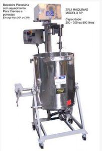 Máquina para a produção de cosméticos - Batedeira