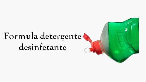 Como fazer detergente desinfetante concentrado