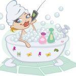 Formula sais de banho de espuma efervescente