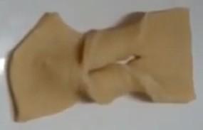 Bolinho cueca virada antes de fritar