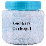 Formula de gel base de Carbopol