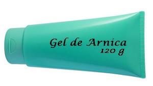 Formula de Gel de Arnica com Canfora e Mentol para dores e contusões