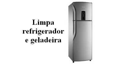 Formula limpador de refrigerador e geladeira