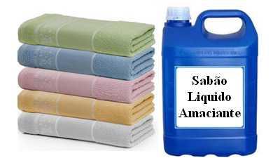 Formula detergente lava roupas com amaciante