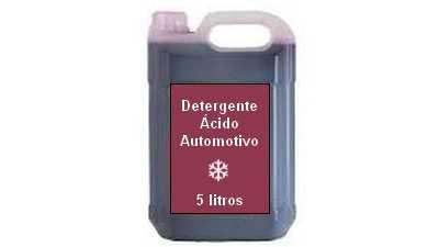 Formula Detergente Ácido Automotivo 1:10, 1:20, 1:40
