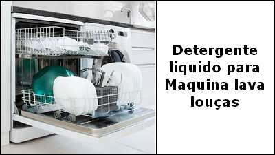 Formula para fazer Detergente Líquido para lavagem automática de louças na maquina.