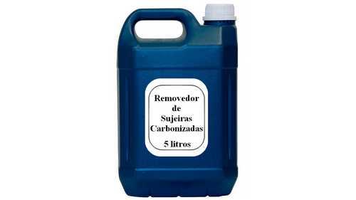 Formula de limpador de sujeiras carbonizadas