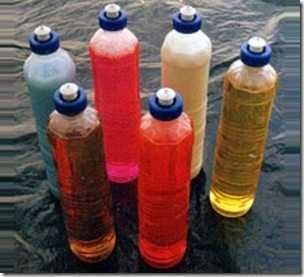 Detergente liquido e amaciante