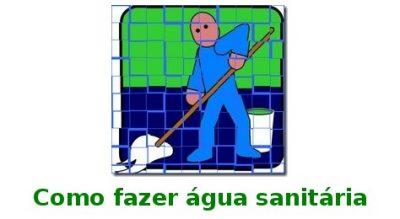 Formula para fazer água sanitária